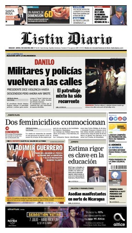 LD 05 07 issuu 2018 by Listín Diario issuu 07 2c2dc6