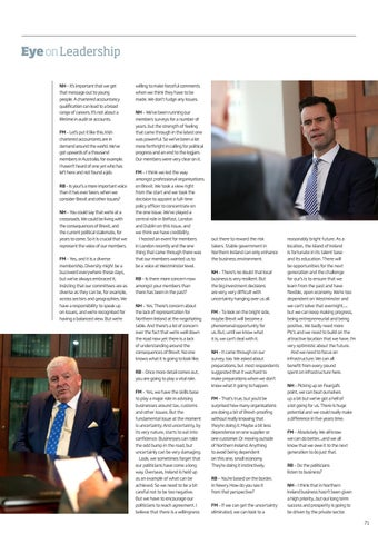 Page 71 of Chartered Accountants Leaders Unite to Urge Political Progress