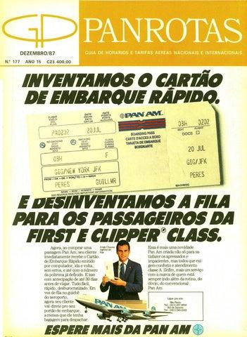 60e561b5b79 Guia PANROTAS - Edição 177 - Dezembro 1987 by PANROTAS Editora - issuu