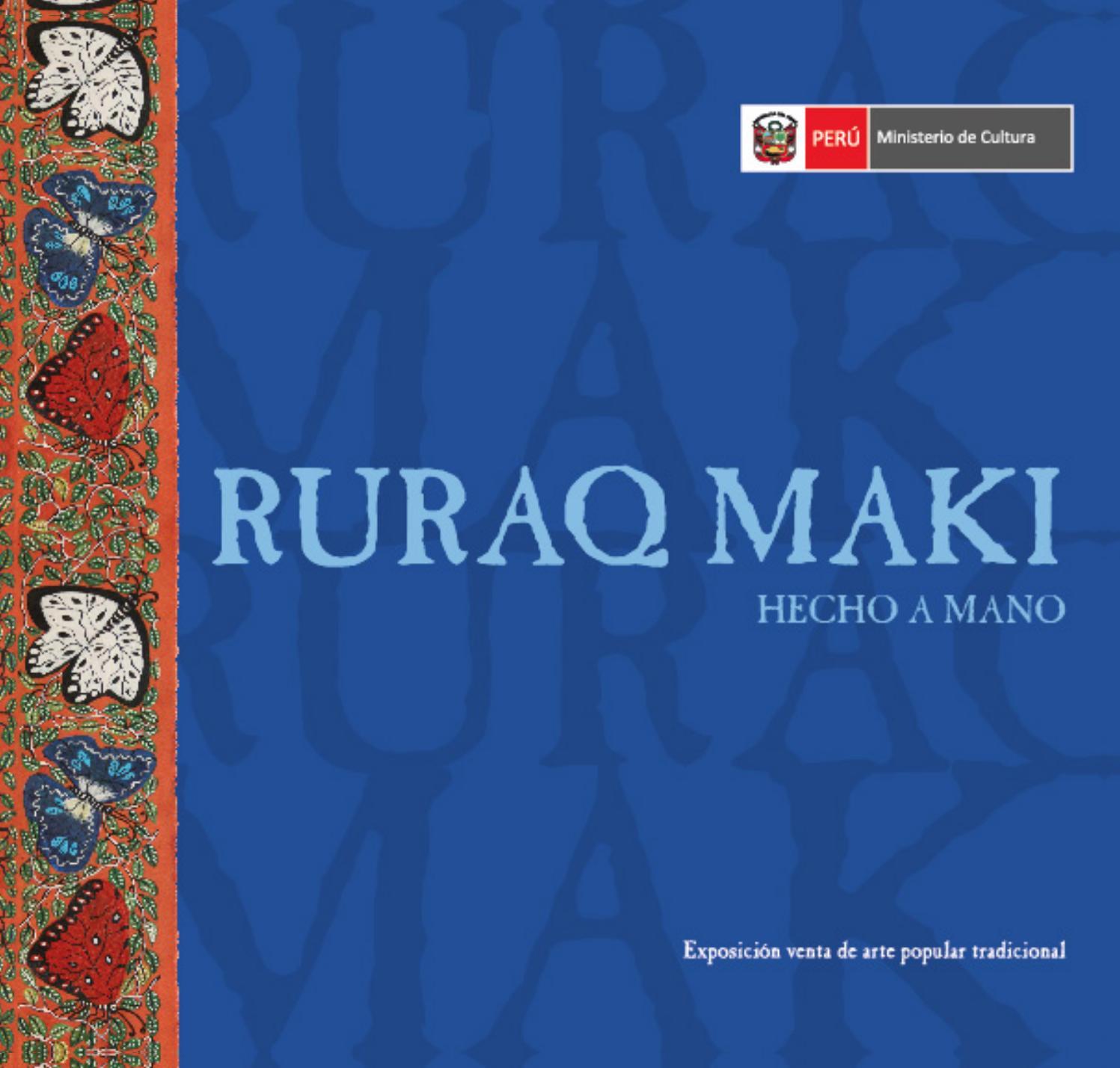 Ruraq Maki 2018 by Ministerio de Cultura - issuu