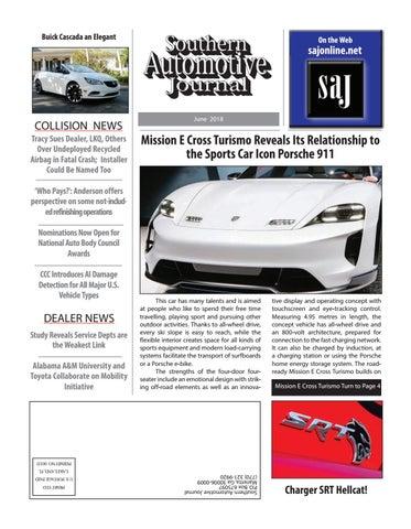 Southern Automotive Journal July 2018 By Southern Automotive Journal