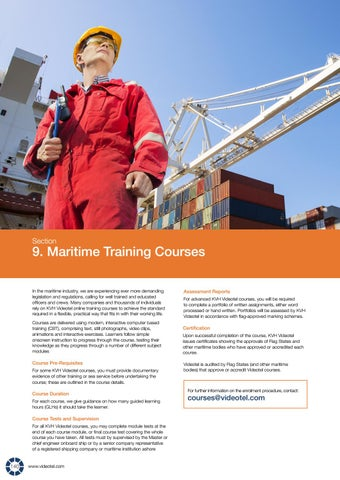 Page 142 of Maritime Training Courses