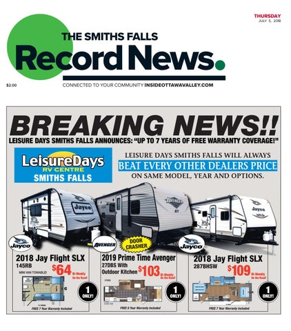 Otv s a 20180705 by Metroland East - Smiths Falls Record