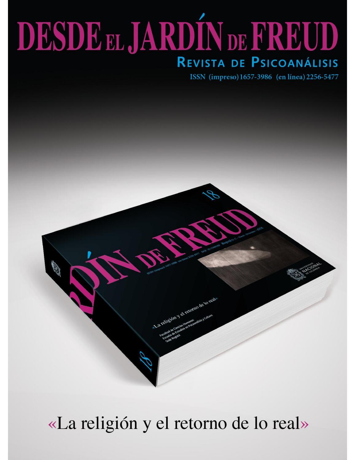 DESDE EL JARDÍN DE FREUD 18 (Revista de Psicoanálisis) by Desde el ...