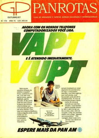 8fb7309ea Guia PANROTAS - Edição 175 - Outubro 1987 by PANROTAS Editora - issuu