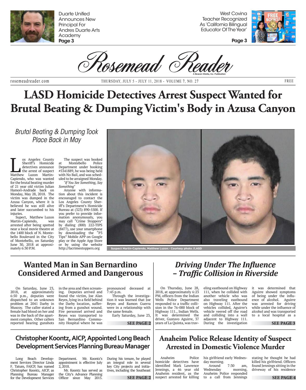 2018 07 05 legal pub rosemead by Beacon Media News - issuu