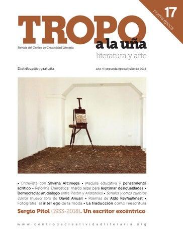 Nueva Época tropo 17 by Centro de Creatividad Literaria - issuu 6603dc88c3f