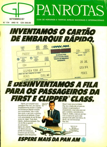 59e35b5e9aa3 Guia PANROTAS - Edição 174 - Setembro 1987 by PANROTAS Editora - issuu