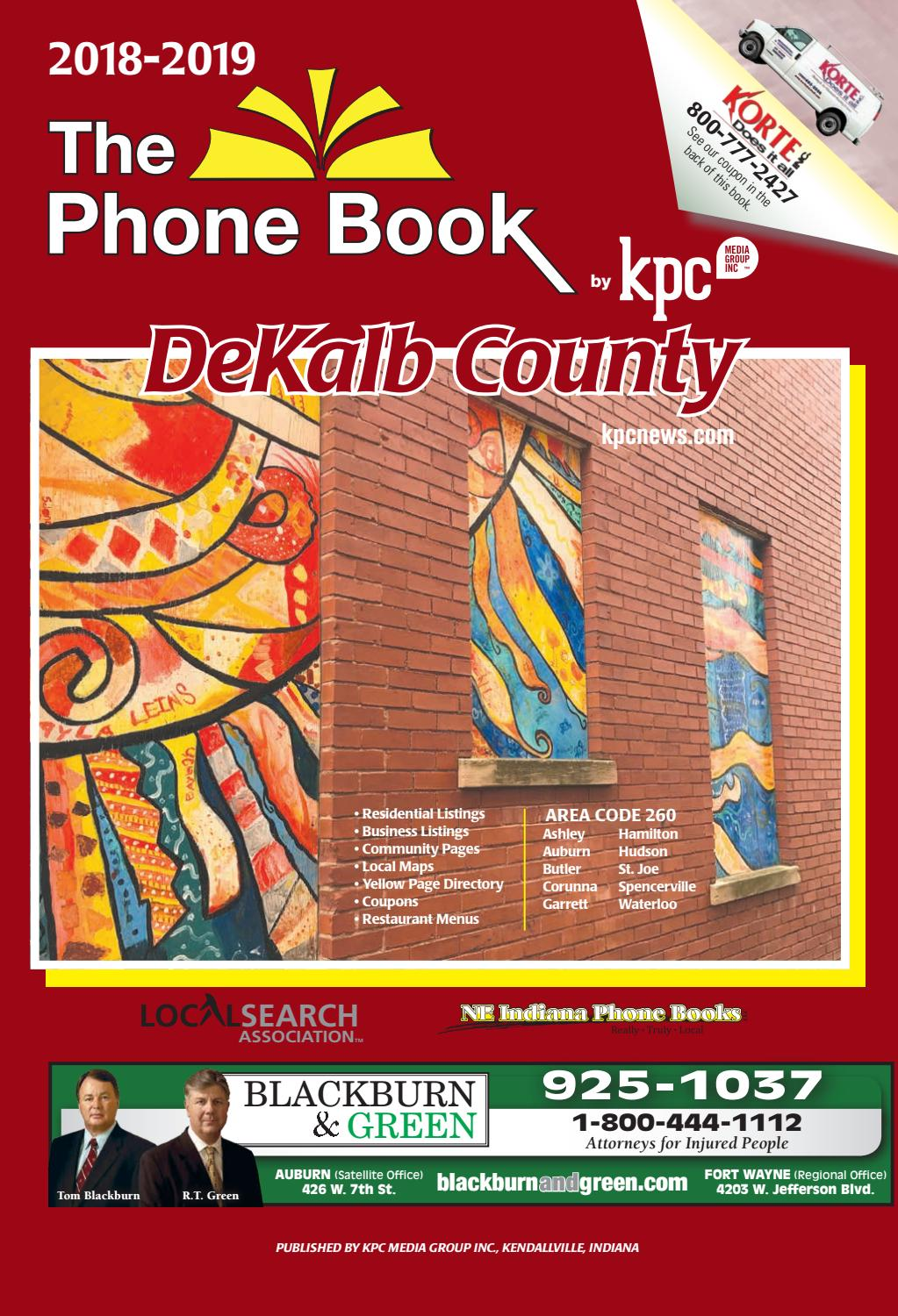 79631197b64b 2018-2019 DeKalb County Phone Book by KPC Media Group - issuu