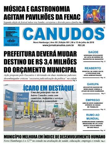 4e5a8d5e6c Jornal Canudos - Edição 551 by Jornal Canudos - Comercial - issuu