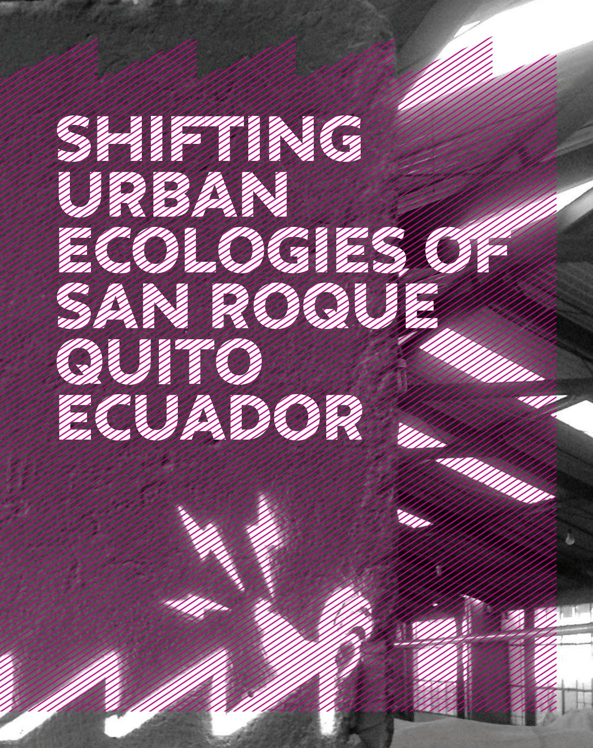 03689f9560 Shifting Urban Ecologies of San Roque Quito by The New School - issuu