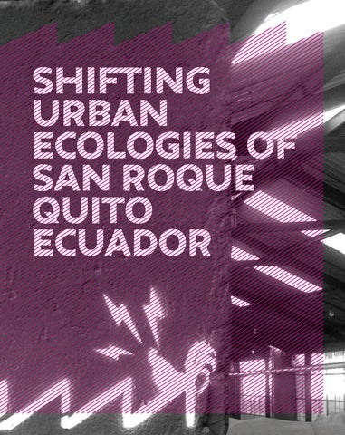 Shifting Urban Ecologies of San Roque Quito by The New