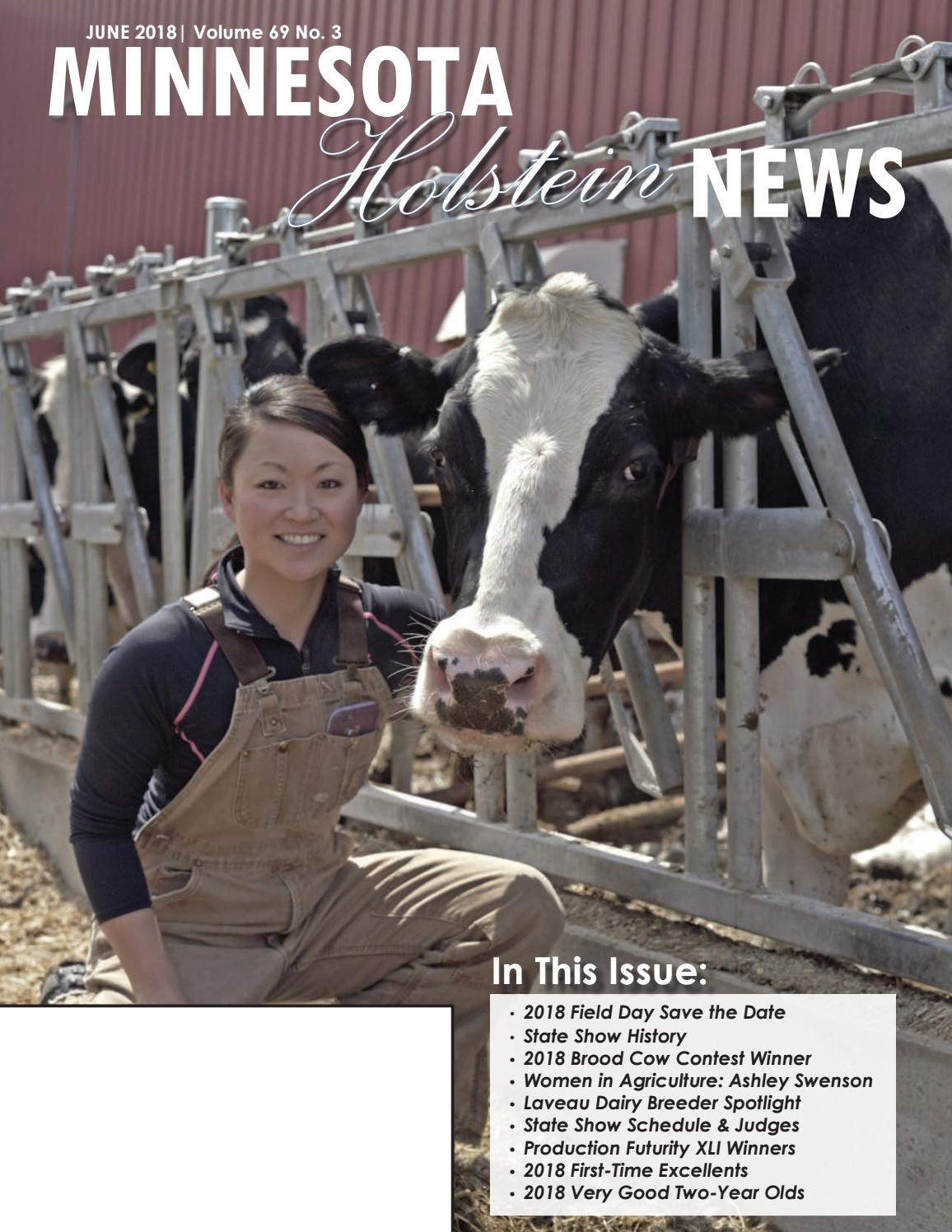 June 2018 Minnesota Holstein News by Minnesota Holstein - issuu