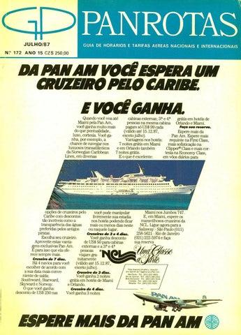 Guia PANROTAS - Edição 172 - Julho 1987 by PANROTAS Editora - issuu 5dd477555813e
