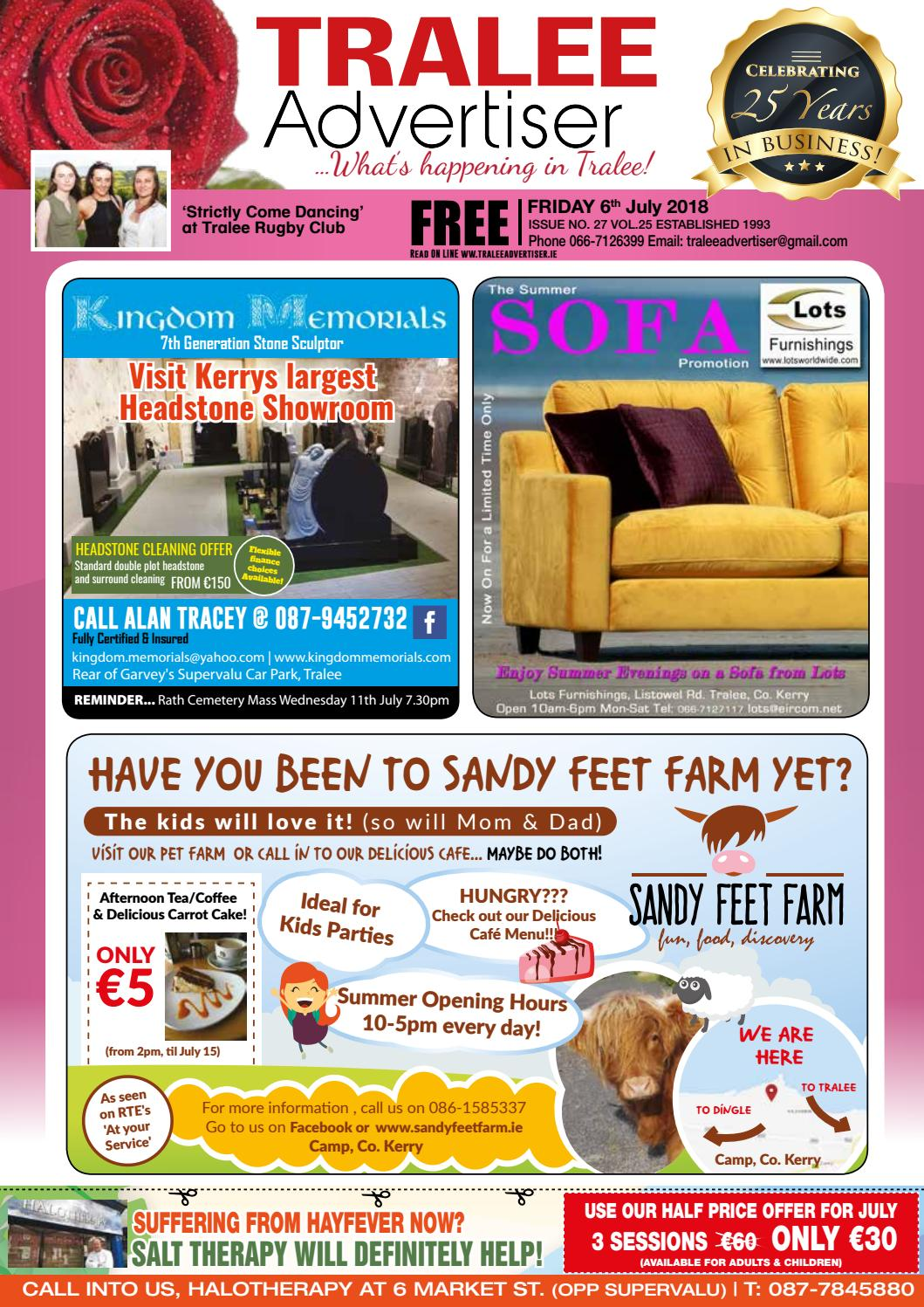 Issue 27 July by TraleeAdvertiser - issuu