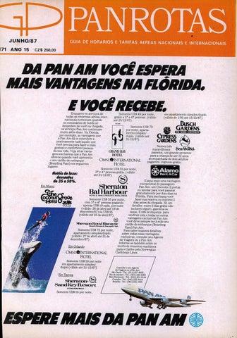 6c55ad2044 Guia PANROTAS - Edição 171 - Junho 1987 by PANROTAS Editora - issuu