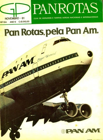 Guia PANROTAS - Edição 104 - Novembro 1981 by PANROTAS Editora - issuu 64a6170cc8de5