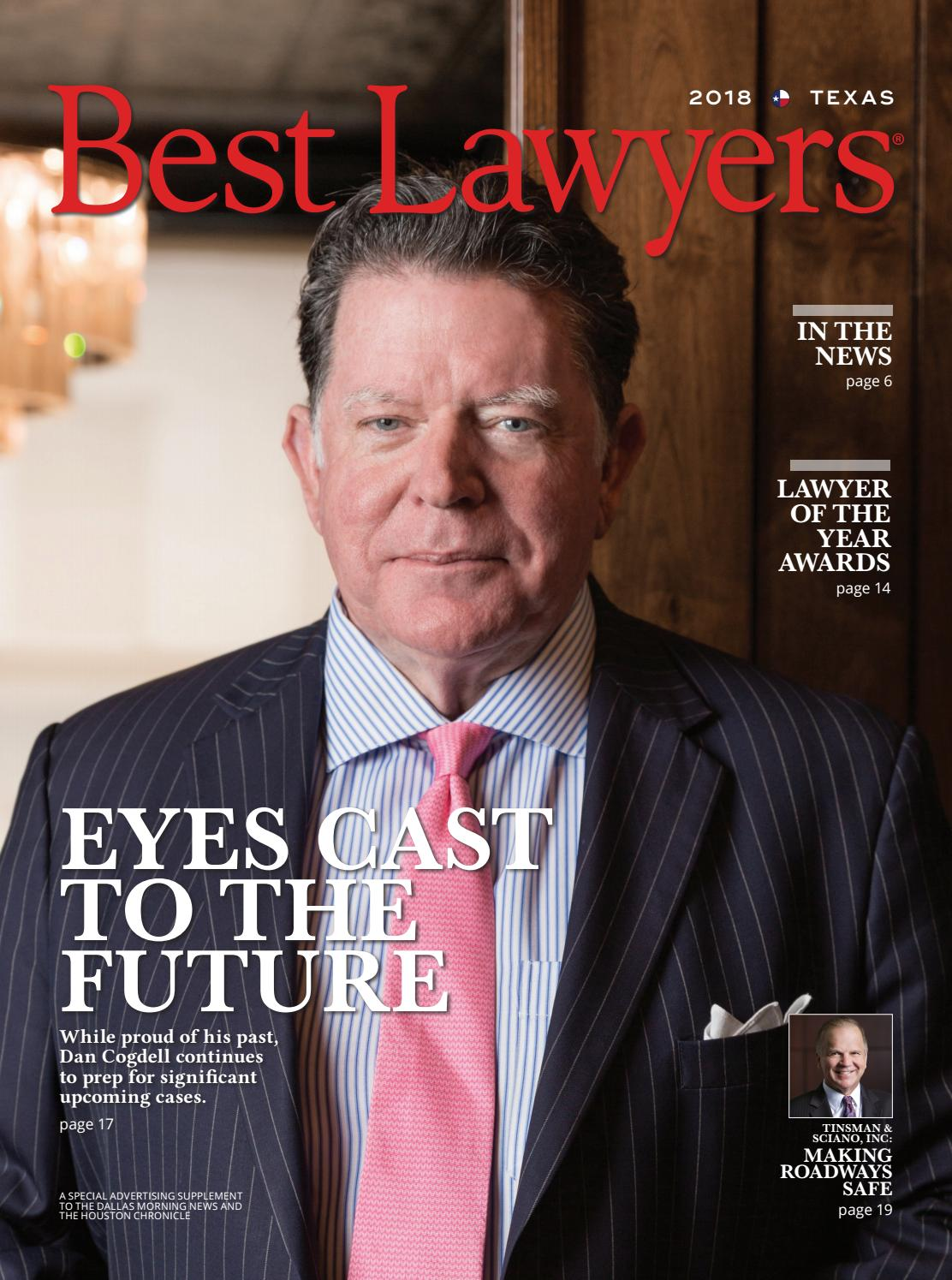 Best Lawyers In Texas 2018 By Best Lawyers Issuu