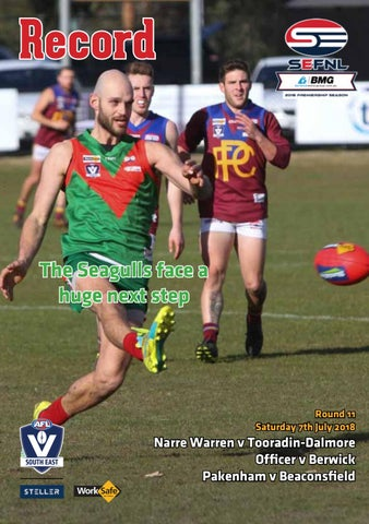 sefnl round 11 web july 7 by afl south east issuu