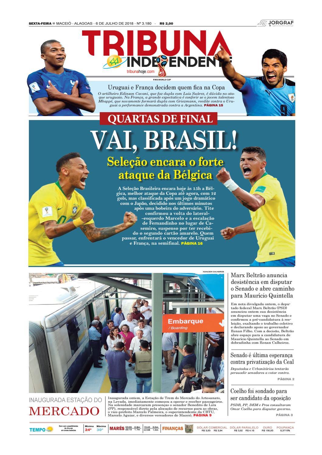 ff82a301c3b Edição número 3180 - 6 de julho de 2018 by Tribuna Hoje - issuu