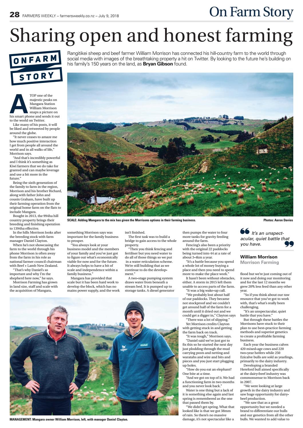 Farmers Weekly NZ July 9 2018