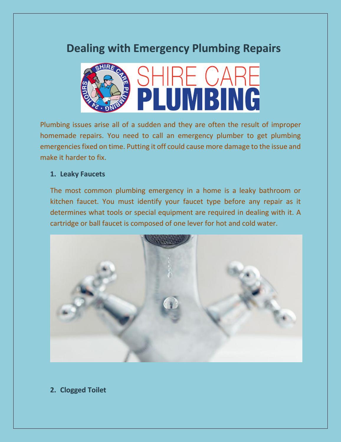 Shire Care Plumbing Emergency Plumber Kurnell by shirecareplumbing ...