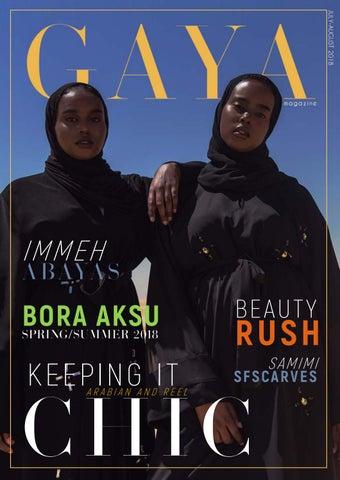 58594e2c79b0c GAYA Magazine Jul/Aug 2018 - Hijab & Modest Fashion for today's ...