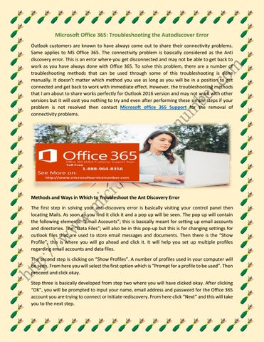 Get Online Microsoft Office 365 Help by radhe shram - issuu