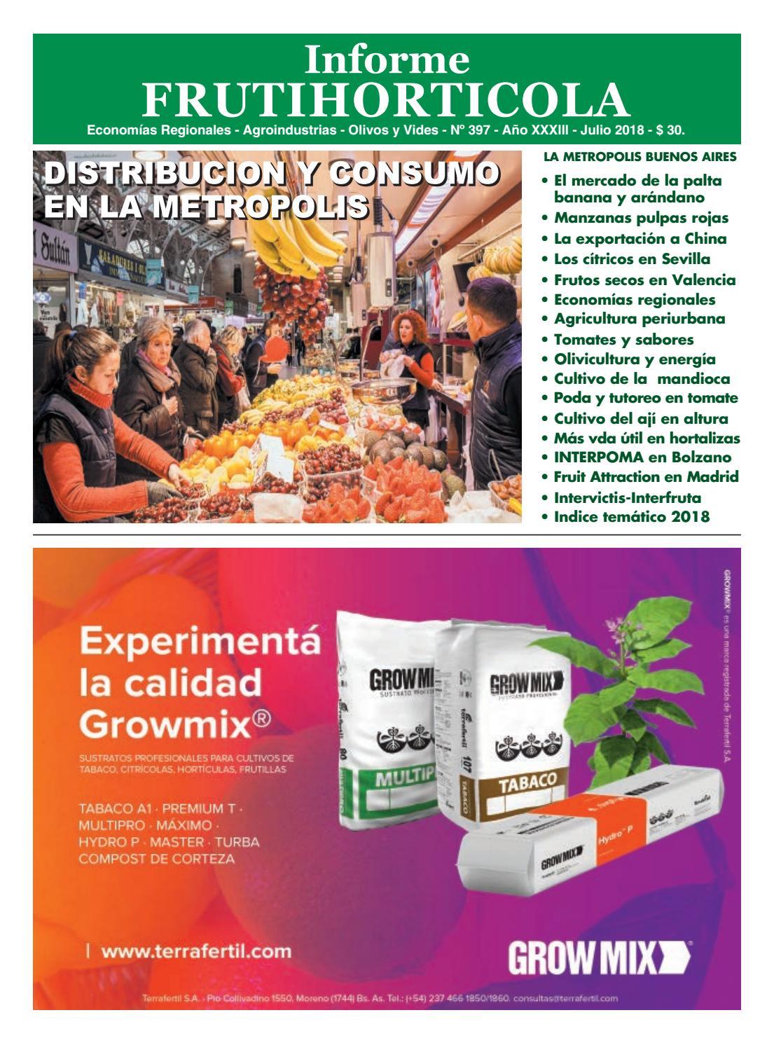c593c3895 Informe julio 2018 by Horticultura   Poscosecha - issuu