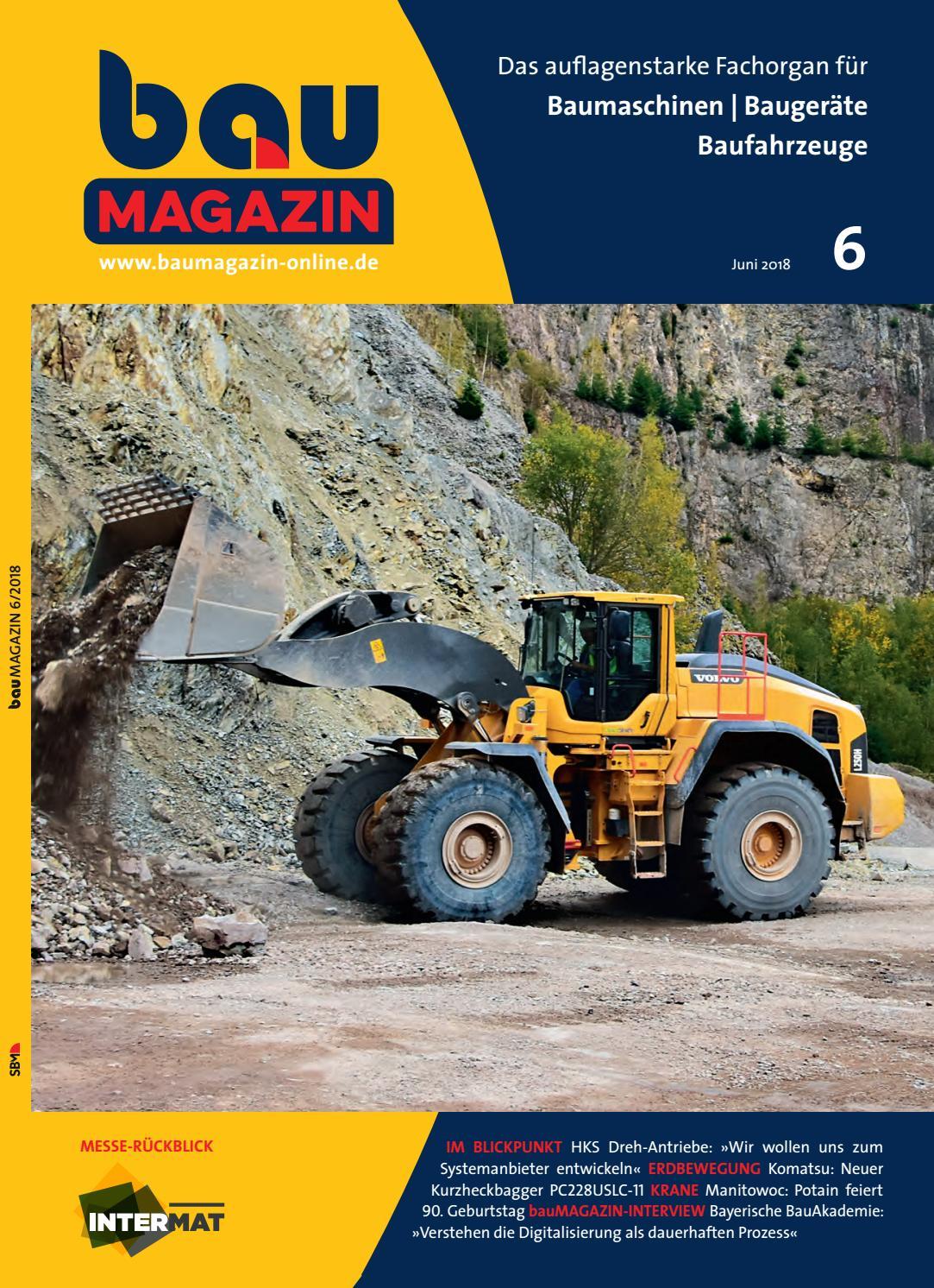 bauMAGAZIN Juni 2018 by SBM Verlag GmbH issuu