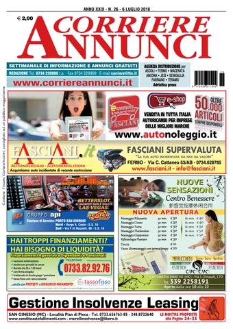 sports shoes 17a82 348bc Corriere26 2018 by Corriere Annunci - issuu