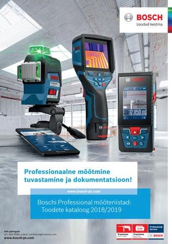 f0bba1064fe Bosch Professional MT A4 2019/2018 EE by GG-dizains - issuu