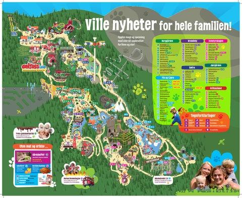 kart over kongeparken Kart og Program Kongeparken 2018 by Erica Moe   issuu kart over kongeparken