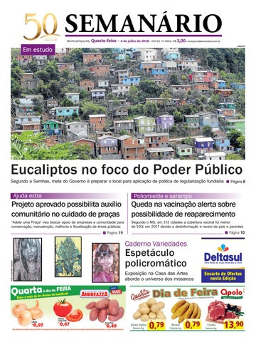 878926bc2 Jornal semanário – 04 de julho de 2018 – ano 51 – nº 3451 by Jornal ...