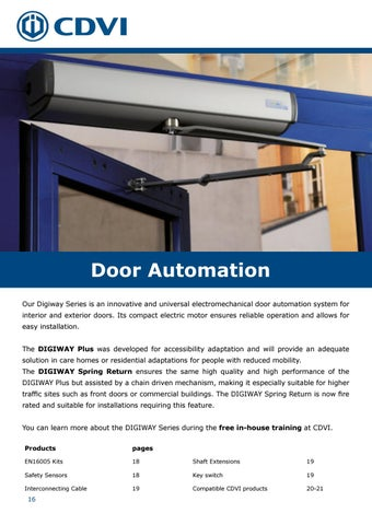 Page 16 of Door Automation