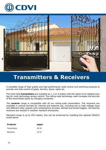 Page 28 of Transmitters and Receivers