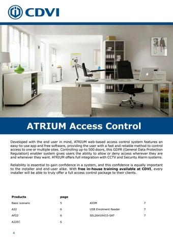 Page 4 of Atrium Online Access Control