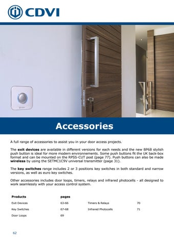 Page 62 of Accessories