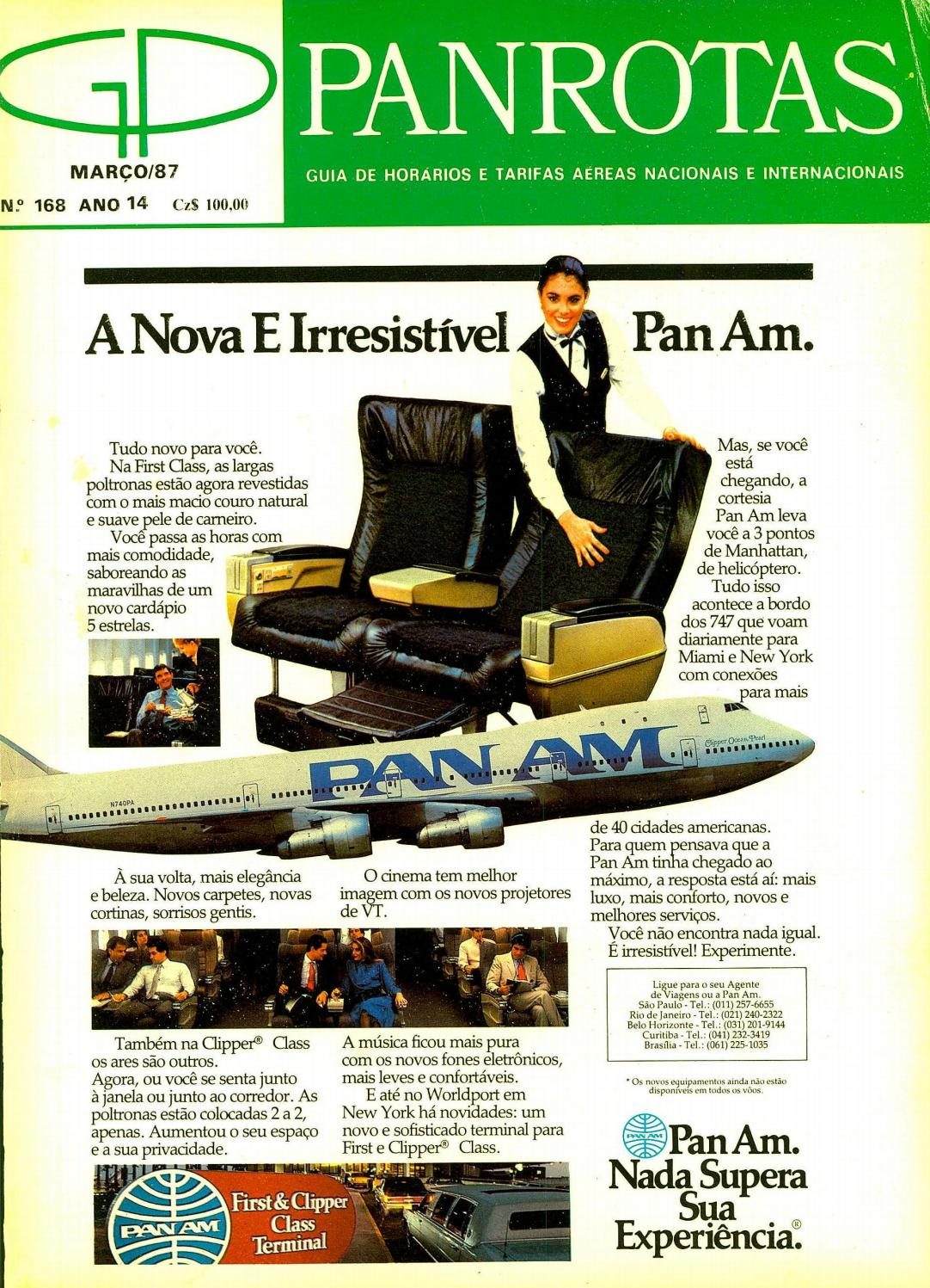 afb28e6c4c4f3 Guia PANROTAS - Edição 168 - Março 1987 by PANROTAS Editora - issuu