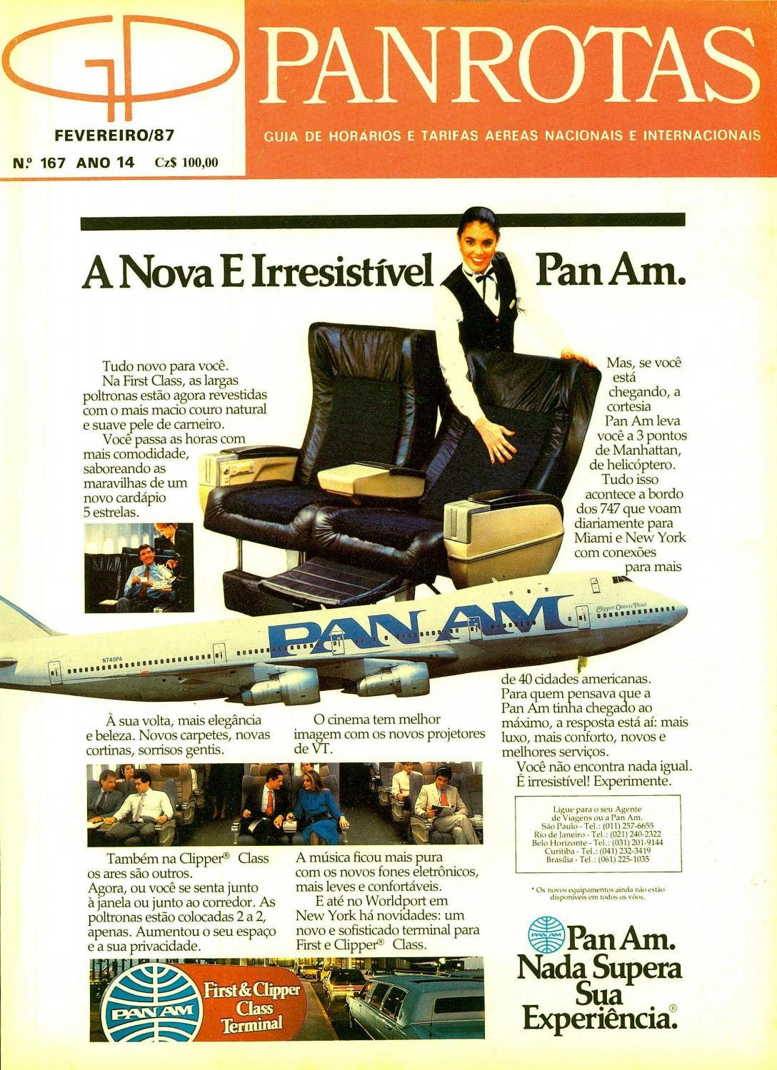 0053997d5e6 Guia PANROTAS - Edição 167 - Fevereiro 1987 by PANROTAS Editora - issuu