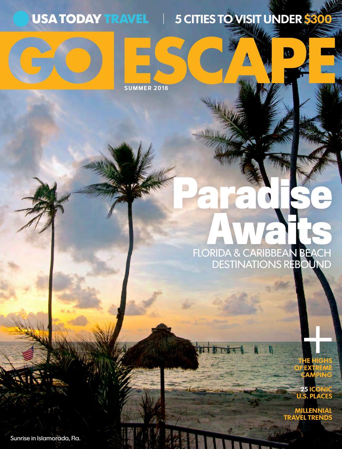 GO ESCAPE SUMMER 2018 by STUDIO Gannett - issuu 616246edf900