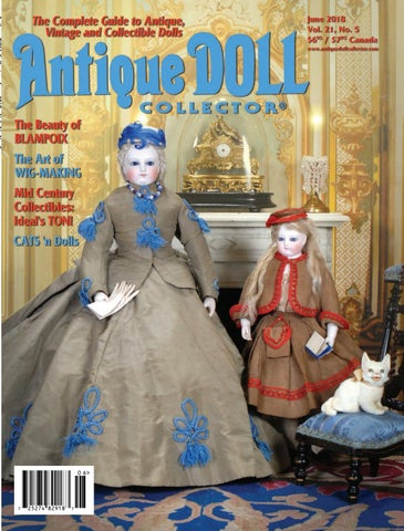 7ac5a08d19f8c4 June 2018 by Antique Doll Collector Magazine - issuu