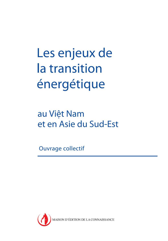 Les Enjeux De La Transition énergétique Au Vit Nam Et En