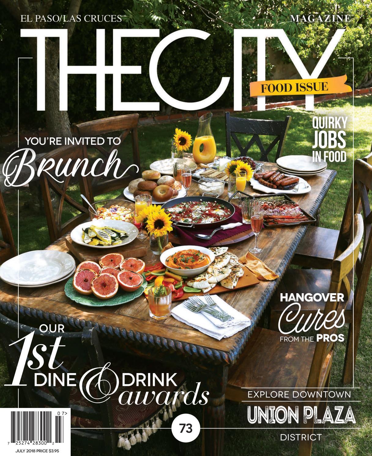 THECITY Magazine El Paso • July 2018 By THECITY Magazine