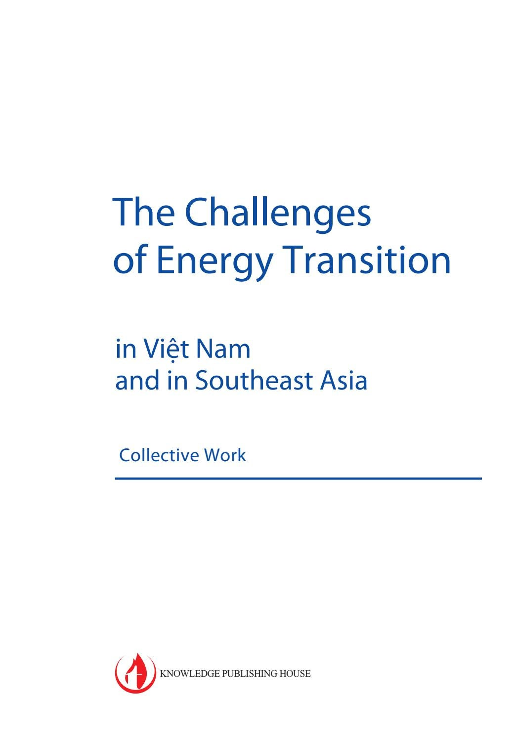 The Challenges of Energy Transition - in Vi?t Nam and in Southeast Asia by  Agence Française de Développement - issuu
