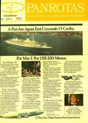 eb0c0f0386 Guia PANROTAS - Edição 165 - Dezembro 1986 by PANROTAS Editora - issuu