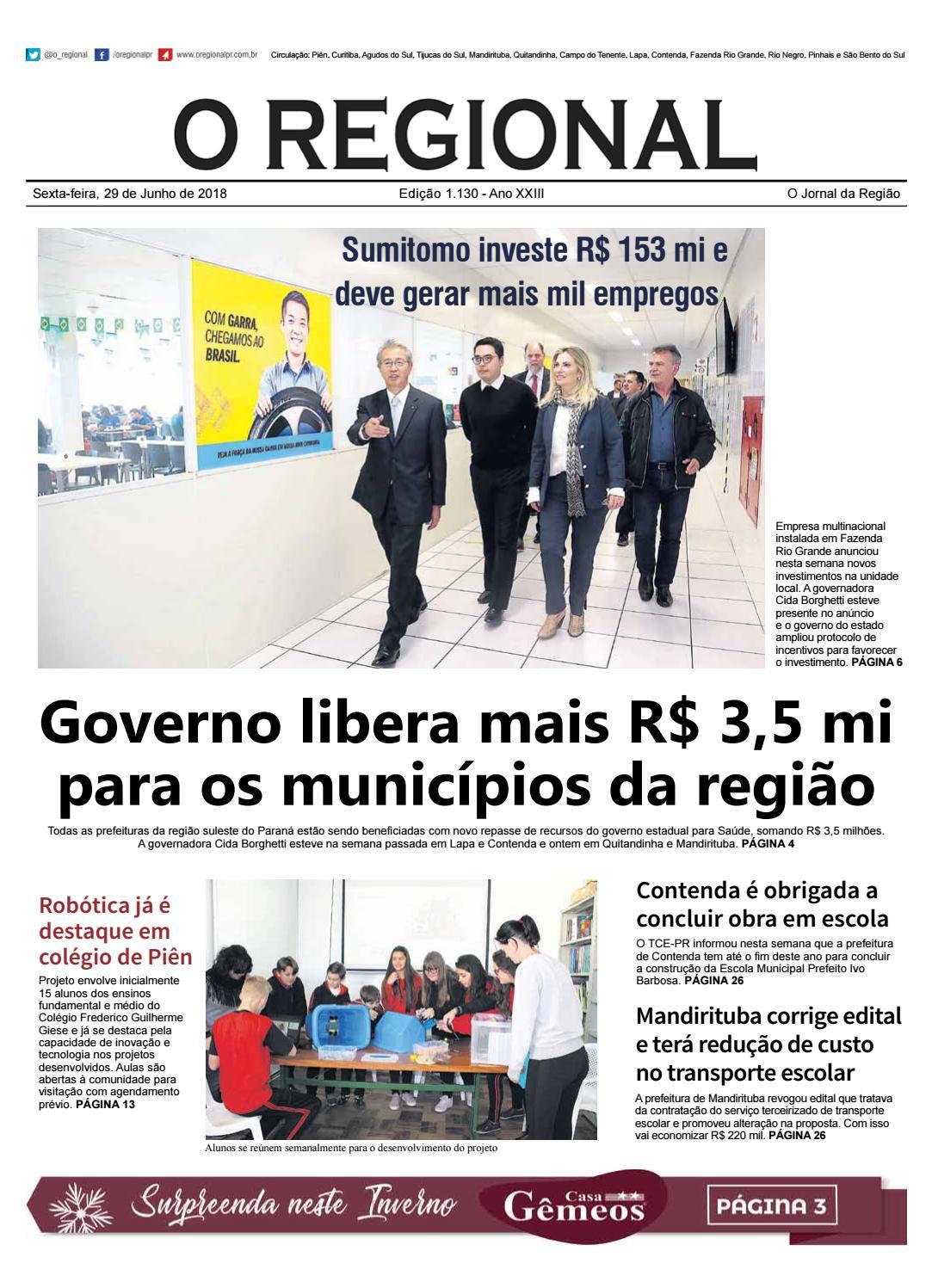 41a96c4882c Ed. 1.130 O Regional by O Regional PR - issuu