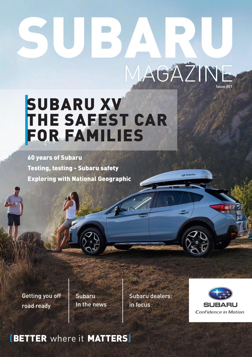Subaru Magazine - July 2018 by Subaru Magazine - issuu