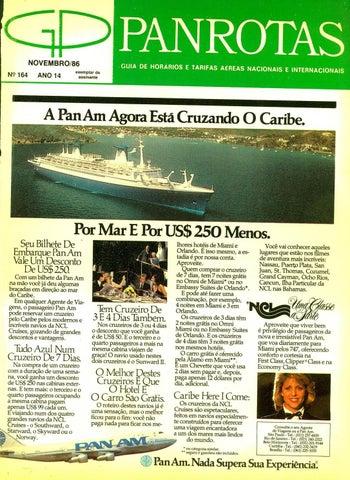 Guia PANROTAS - Edição 164 - Novembro 1986 by PANROTAS Editora - issuu 739611e16a652