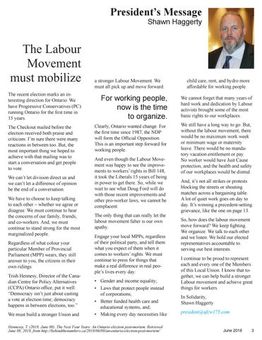 Page 3 of The Labour Movement Must Mobilize